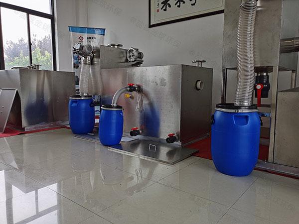 厨余30立方隔油隔渣隔悬浮物隔油提升一体化求购