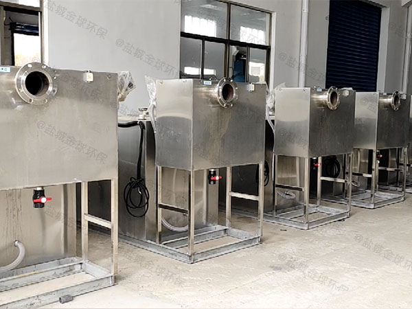 餐饮商户3.1米*1.2米*1.85米混凝土废水隔油器检验