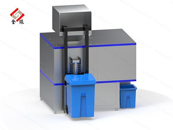 日处理10吨智能餐饮垃圾减量化处理设备厂