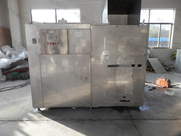 日处理10吨自动上料餐饮垃圾预处理机器视频