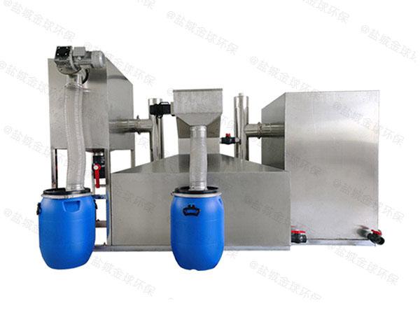 厨房用中小型不锈钢隔油池设备调试方案