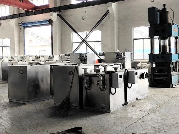 餐用2号砖砌隔油提升一体设备内部结构