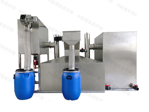饭堂大型不锈钢隔油一体化设备设计规范