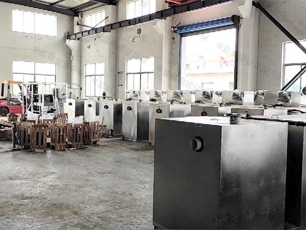 餐饮环保甲型隔油隔油池提升一体化设备企业