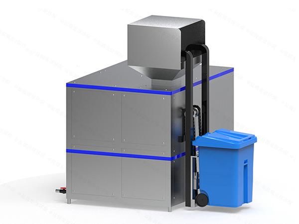 10吨机械式餐饮垃圾处理整套设备技术原理