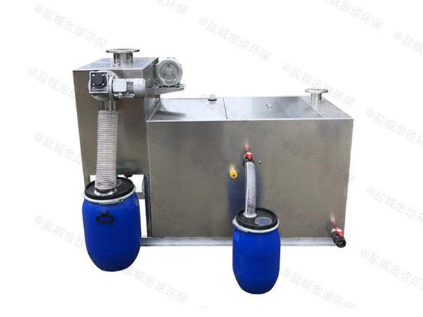 餐饮业3.5米*1.35米*1.85米隔渣隔油污水提升装置施工方案