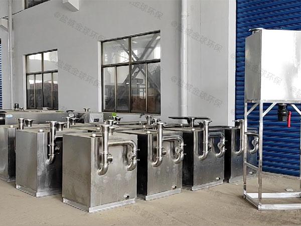 单位食堂8吨的长宽高混凝土隔油除渣器使用寿命