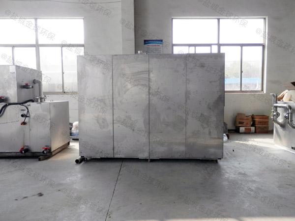 日处理10吨环保餐饮垃圾处理器工艺流程图详解