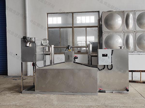 厨用甲型砖砌隔油池提升设备使用