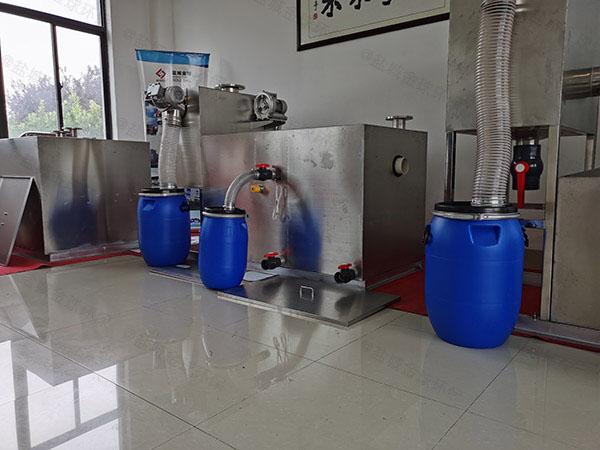 购物中心2号隔油隔渣隔悬浮物隔油一体化装置视频