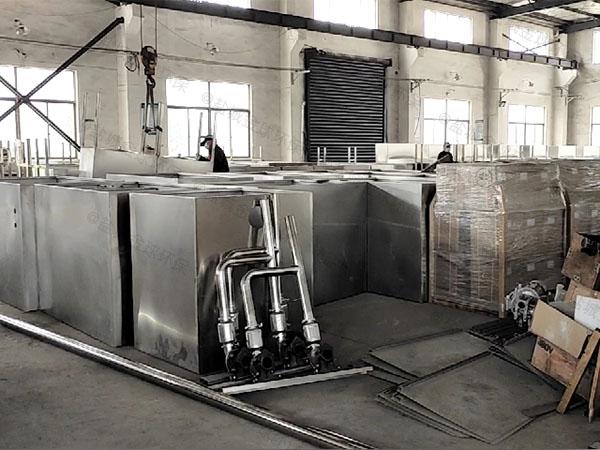 饭馆100人混凝土隔油强排一体化设备设计标准