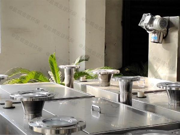 酒店平地式和深坑式污水提升处理器怎么安装