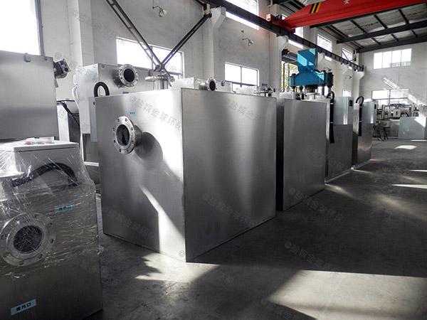负一楼外置污水排放提升设备安装尺寸