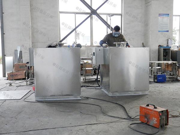 小区地下室粉碎污水排放提升设备效果