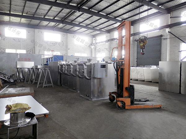 厨房密闭式自动排渣污水处理提升器特征