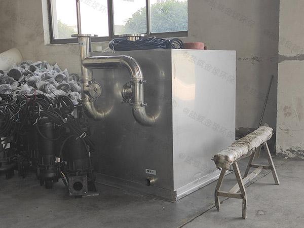 别墅用自动化污水提升器装置的安装方法