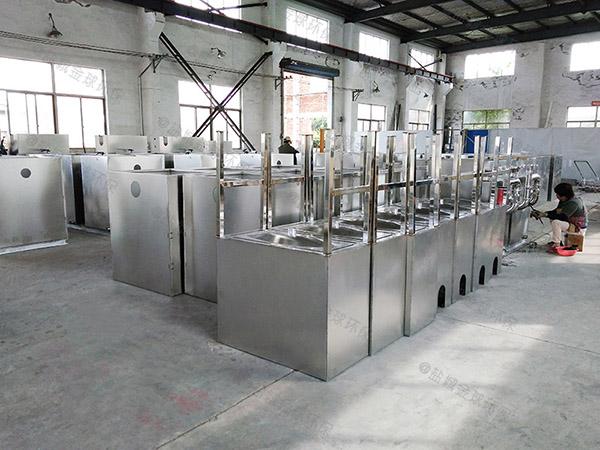 单位食堂2.8米*1.2米*1.75米砖砌隔油提污设备生产厂