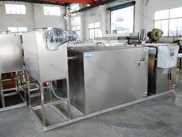 厨余3.5米*1.35米*1.85米用砖做隔油提升一体机设计计算