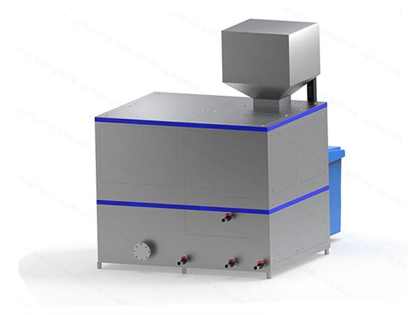 大型自动上料餐饮垃圾处理器对环境的影响