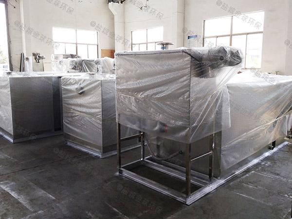 饭馆8吨的长宽高隔渣隔油强排设备品牌排行
